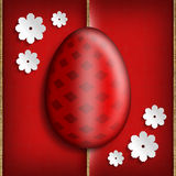 Happy Easter - Greeting card background Stock Photos