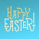 Happy Easter Greeting Card. Stock Photo