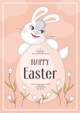 Happy easter greeting Stock Photography