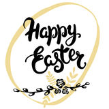 Happy Easter greeting card. Royalty Free Stock Photography