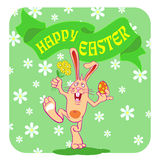 Happy easter01 Royalty Free Stock Photo