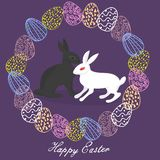 Happy easter. greeting card stock images