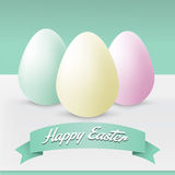 Happy Easter Greeting Card Royalty Free Stock Image