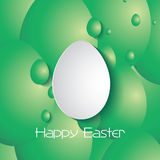 Happy Easter greeting card Royalty Free Stock Photos