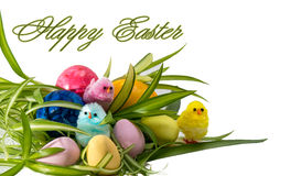 Happy Easter Greeting Card Stock Photography