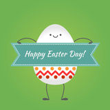 Happy easter,  happy eggs Royalty Free Stock Image