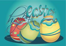Happy Easter Holiday Card Royalty Free Stock Image