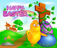 Happy Easter holiday celebration Stock Photo