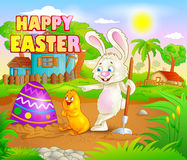 Happy Easter holiday celebration Royalty Free Stock Photography