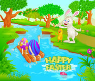 Happy Easter holiday celebration Stock Image