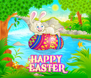 Happy Easter holiday celebration Stock Images