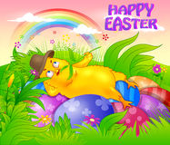 Happy Easter holiday celebration Royalty Free Stock Image
