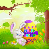 Happy Easter holiday celebration Royalty Free Stock Photos