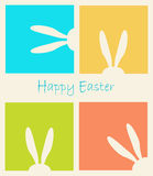 Happy Easter Holiday. Easter Rabbit, Easter Bunny. Greeting card background. Vector Illustration, vintage style. For Art, Print, Fashion, Web design royalty free illustration