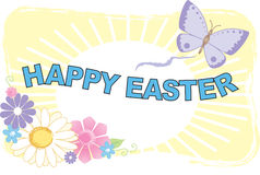 Happy Easter Illustration Stock Photo