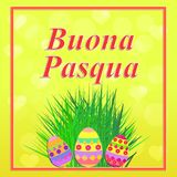 Happy Easter illustration. Stock Photos