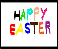 Happy Easter  illustration Stock Photography