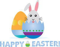 Happy easter illustration Stock Photos