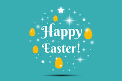 Happy Easter Illustration Royalty Free Stock Image