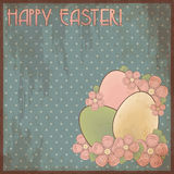 Happy Easter invitation post card stock photography