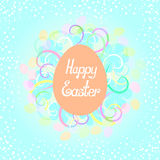 Happy Easter  lettering Stock Photo