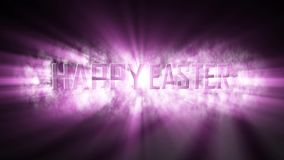 Happy Easter modern and elegant background. stock video