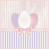 Happy Easter old card Stock Photography