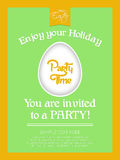 Happy Easter Party Time Royalty Free Stock Photos