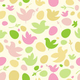 Happy Easter pattern. Royalty Free Stock Photography
