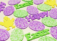 Happy Easter pattern Stock Image