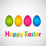 Happy Easter poster Royalty Free Stock Photography