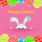 Happy Easter Rabbit Bunny Stock Photo