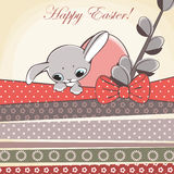 Happy easter rabbit Royalty Free Stock Photos