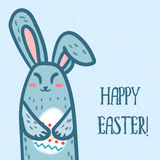 Happy Easter Rabbit Royalty Free Stock Images