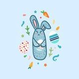Happy Easter Rabbit Stock Image