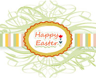 Happy easter ribbon Royalty Free Stock Photo