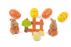 Happy Easter - scene with gadgets Royalty Free Stock Photography
