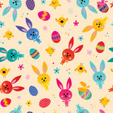 Happy Easter seamless pattern Royalty Free Stock Photography