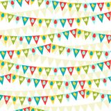 Happy Easter seamless pattern Stock Image