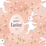 Happy easter seamless Royalty Free Stock Photo
