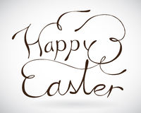 Happy Easter sign. Royalty Free Stock Photos