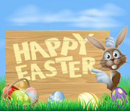 Happy Easter sign Royalty Free Stock Image
