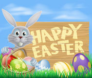 Happy Easter sign Royalty Free Stock Photography