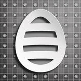Happy Easter - simple design of greeting card Royalty Free Stock Photo