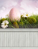 Happy Easter Spring background/backdrop Royalty Free Stock Photo
