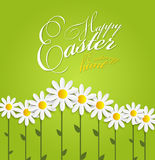 Happy Easter Spring Background Illustration Royalty Free Stock Photo