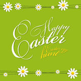 Happy Easter Spring Background Illustration Royalty Free Stock Photography
