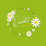 Happy Easter Spring Background Illustration Stock Photo