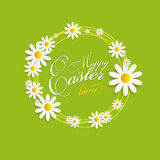 Happy Easter Spring Background Illustration Stock Images