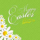 Happy Easter Spring Background Illustration Royalty Free Stock Image
